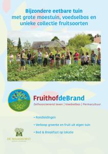 Folder Fruithof de Brand